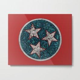Tennessee flag Metal Print