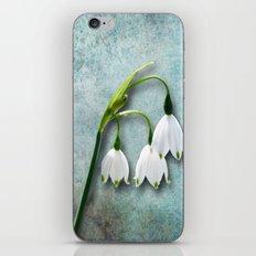 Snowdrop iPhone & iPod Skin