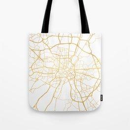 MUNICH GERMANY CITY STREET MAP ART Tote Bag