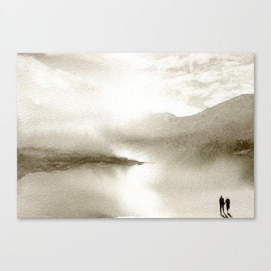 Sepia Light Canvas Print