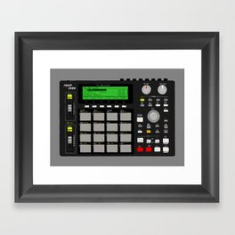 Akai MPC 1000 Framed Art Print