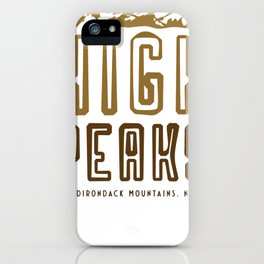 High Peaks - Adirondack Mountains iPhone Case