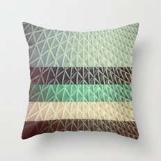 CANOPY COLLAGE 01D - Retro Throw Pillow