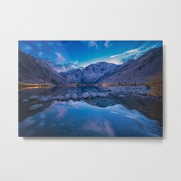 Convict Lake After the Sunset Metal Print