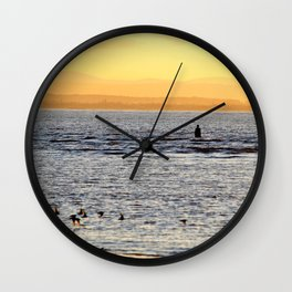 Going, Going, Gone Wall Clock