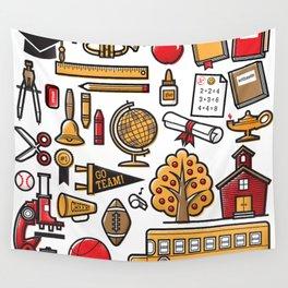 School Days Wall Tapestry