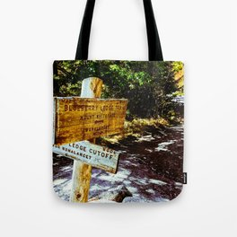 Blueberry Sign Tote Bag