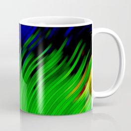 stripes wave pattern 2 with lines vtgi Coffee Mug