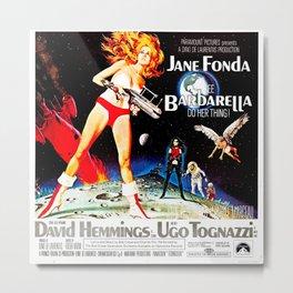 Go Barbarella! Metal Print