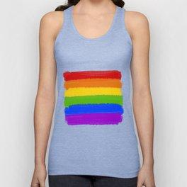 Rainbow Pride Flag Unisex Tank Top