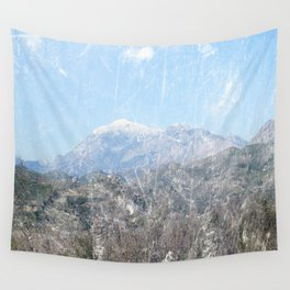 Snow-capped Mountains Wall Tapestry