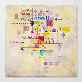 Wassily Kandinsky - Graceful ascent Canvas Print