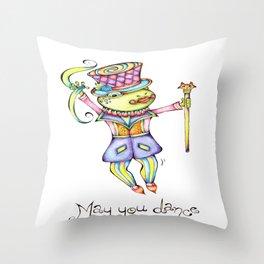 May You Dance Throw Pillow