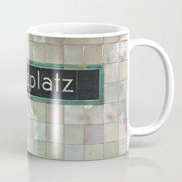 Berlin U-Bahn Memories - Moritzplatz Coffee Mug