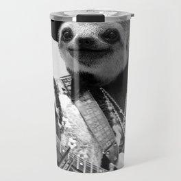 Rockstar Sloth #2 Travel Mug