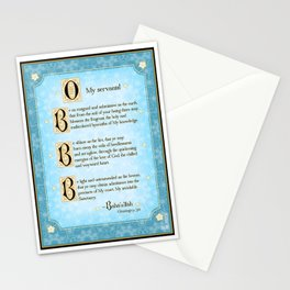 Resigned and Submissive Stationery Cards