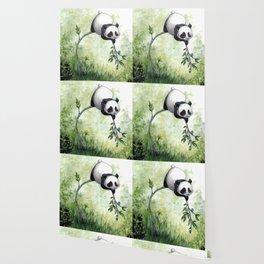 Panda Hello Wallpaper