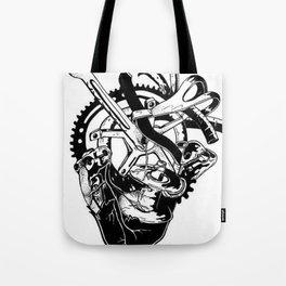 Fahrrad Herz Tote Bag
