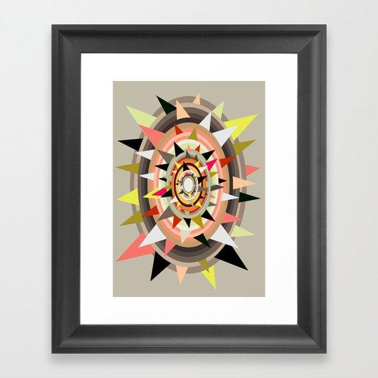 Sharp Bulls-eye  Framed Art Print