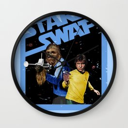 Star Swap Wall Clock