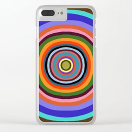Technicolor dream 002 Clear iPhone Case