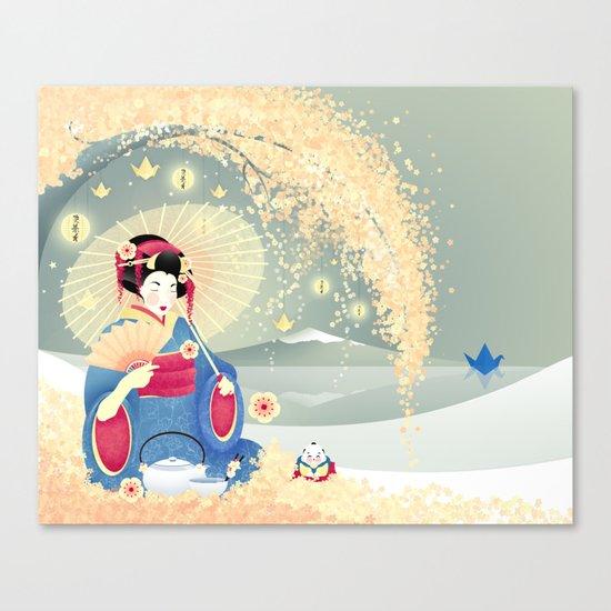 Turning Japanese Canvas Print