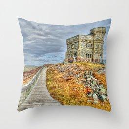 Cabot tower Throw Pillow