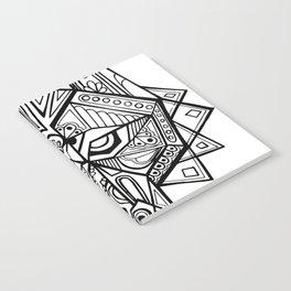 Deco Wolf Notebook