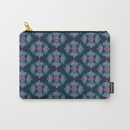Royal Gardens (Navy) Carry-All Pouch