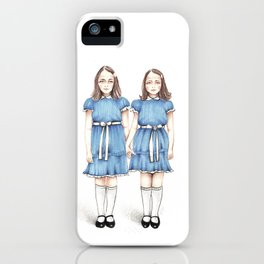 The Grady Twins iPhone Case