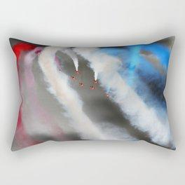 Watercolors on the sky Rectangular Pillow