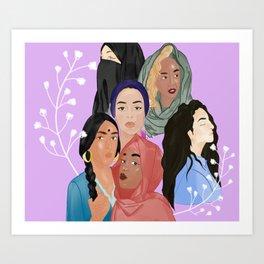 Maleeka Art Print