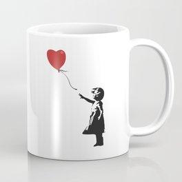 Girl with Balloon - Banksy Graffiti Coffee Mug