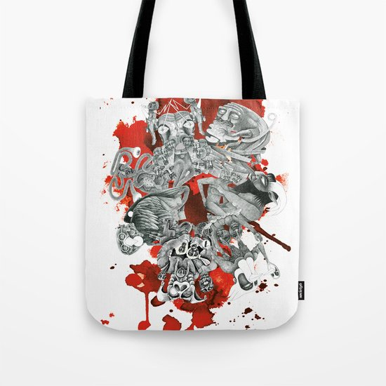 The seven deadly sins Tote Bag