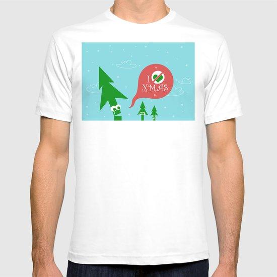 Greestmas. Save Xmas Trees T-shirt