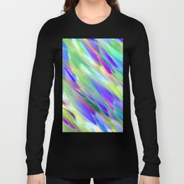 Colorful digital art splashing G401 Long Sleeve T-shirt