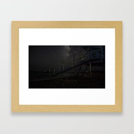 Life Guard Off Duty Framed Art Print