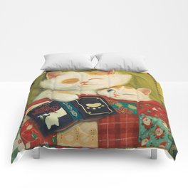 The cozy moment Comforters