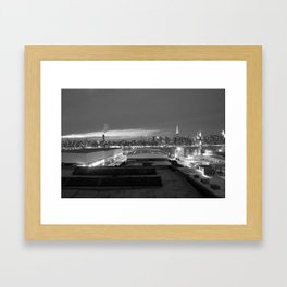 NYC from Brooklyn Framed Art Print