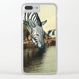 I enjoy your company Clear iPhone Case