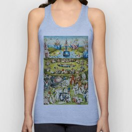 Hieronymus Bosch - The Garden Of Earthly Delights Unisex Tank Top
