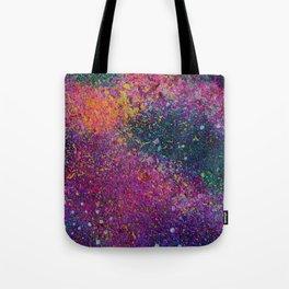 Purple Galaxy 2 Tote Bag