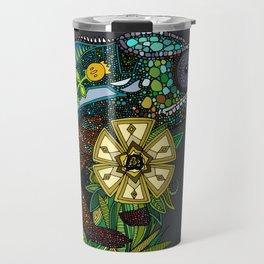 chameleon pewter Travel Mug