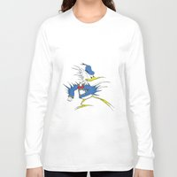 donald duck Long Sleeve T-shirts featuring Donald LASORBIRD by Futurlasornow