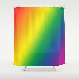 Gay Pride Gradient Shower Curtain
