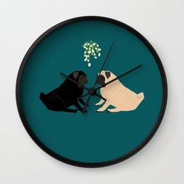 Christmas Couple Wall Clock