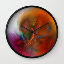 Olgonia 3 Wall Clock