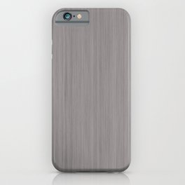 Slate Violet Gray SW9155 Smooth Wood Grain Pattern iPhone Case