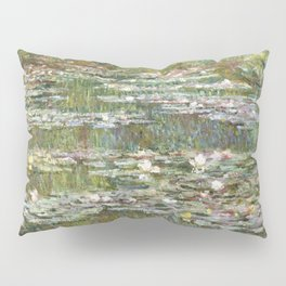 Bridge over a Pond of Water Lilies by Claude Monet Pillow Sham