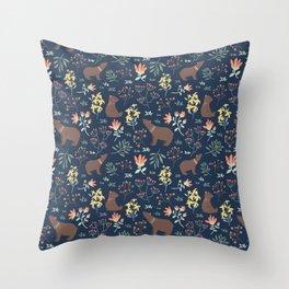 Little Bears Throw Pillow